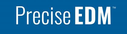 PRECISE EDM logo