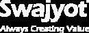 Swajyot Footer Logo White